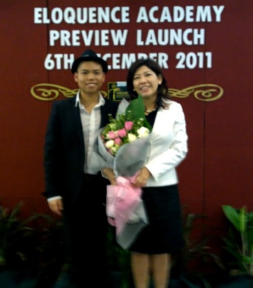 Royce and Laychi Completes the Preview Launch of The Eloquence Academy Courses to would-be participants on the 6th of December 2011
