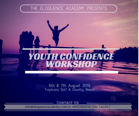 Eloquence Academy Youth Confidence Workshop